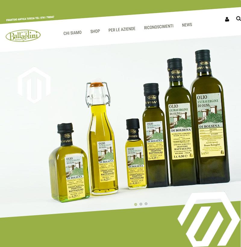 Frantoio Battaglini Bolsena | Shop Magento