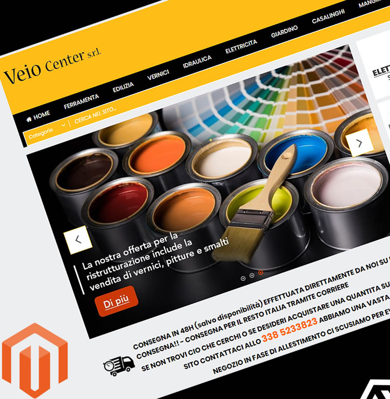 Veio Center | Shop Magento